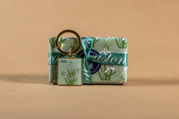 Snowdrop Soap and Keyring Gift Set