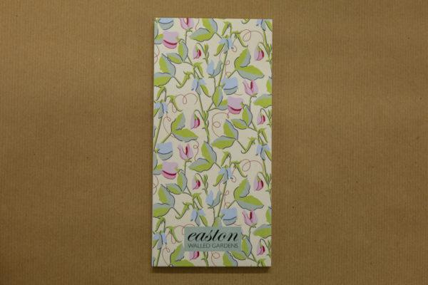 Easton Walled Gardens Magnetic Notepad - Sweet Peas
