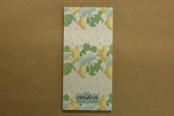 Easton Walled Gardens Magnetic Notepad - Oak and Lime