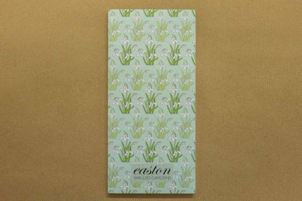 Easton Walled Gardens Magnetic Notepad - Snowdrops