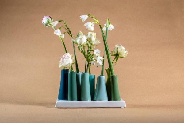 Snowdrop Tube Vase