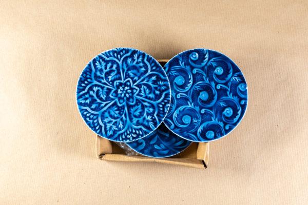 Fiskardo Coasters - Blue