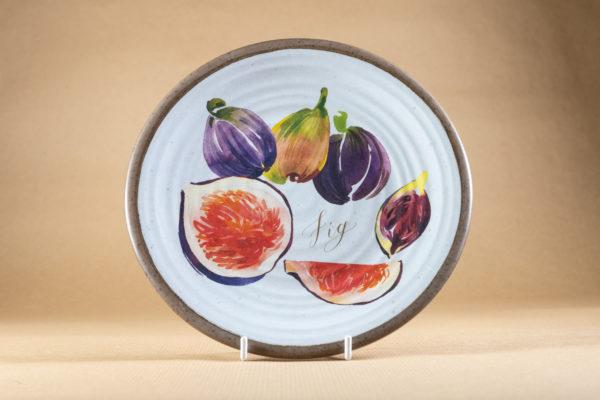 Melamine side plate - fig