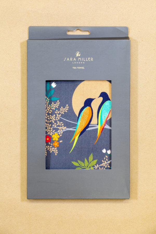 Sara Miller Tea Towel - Swallows