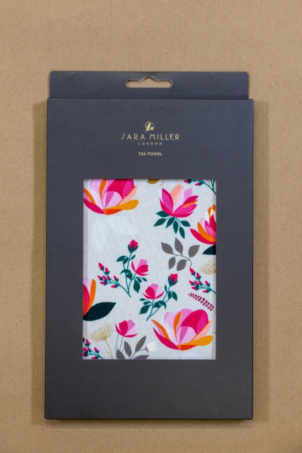 Sara Miller Tea Towel - Floral
