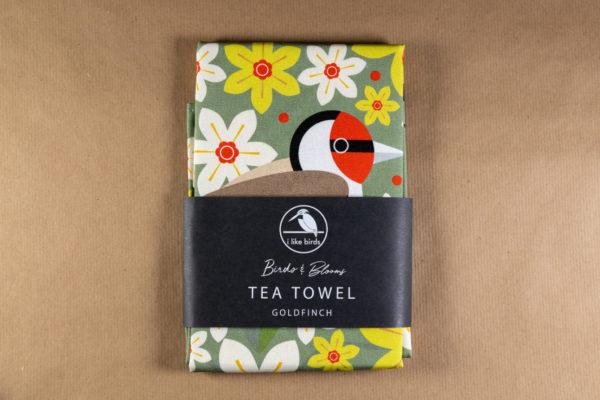 Goldfinch Tea Towel