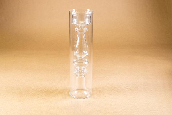 Tea light holder and vase - glass