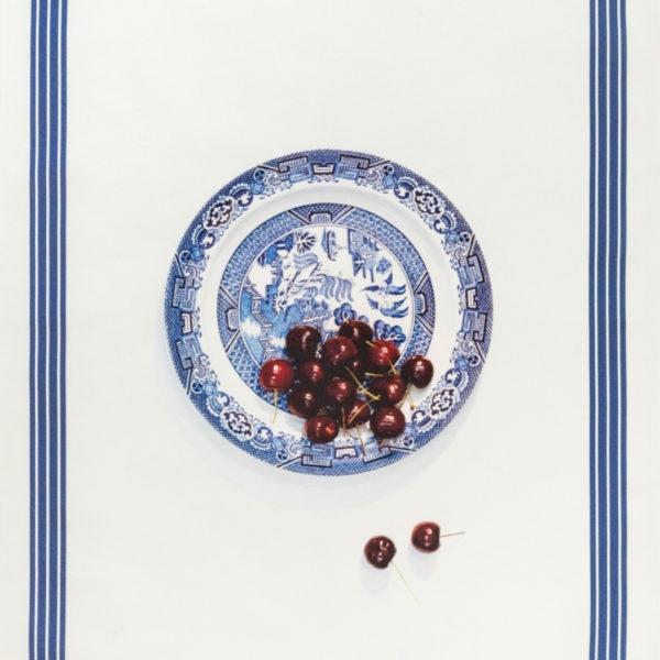 Bowl of Cherries Tea Towel