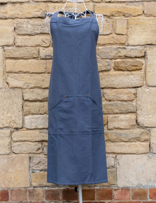 Slate Blue Apron